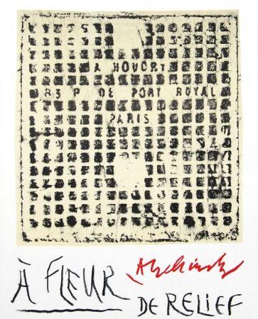 Illustriertes Buch Alechinsky - À fleur de relief