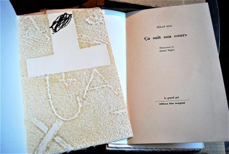 Illustriertes Buch Tapies - Ça Suit Son Cours.