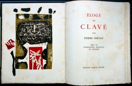 Illustriertes Buch Clavé - Éloge De Clavé