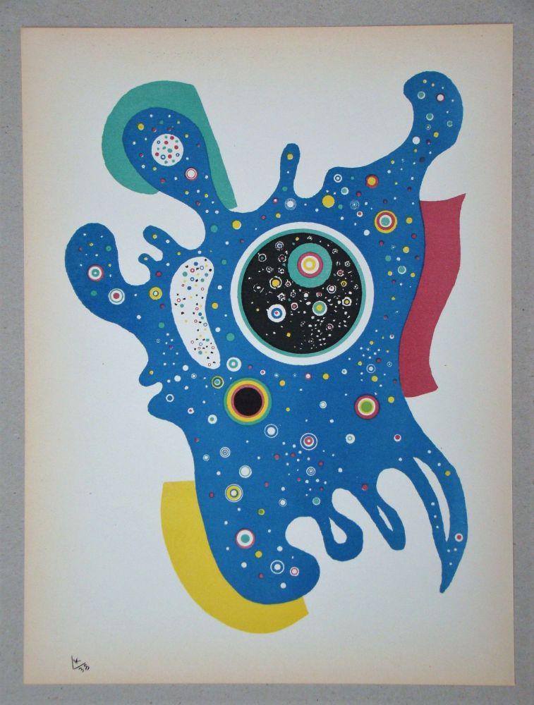 Lithographie Kandinsky - Étoiles