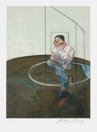 Lithographie Bacon - Étude pour un portrait de John Edwards