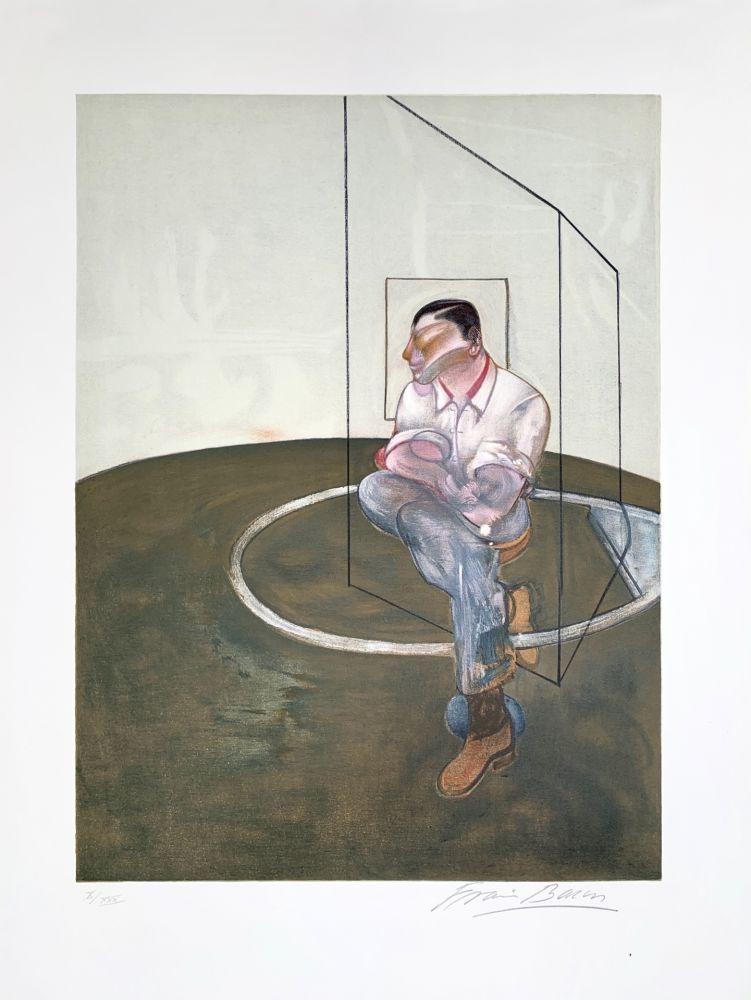 Lithographie Bacon - Étude pour un portrait de John Edwards, 1987
