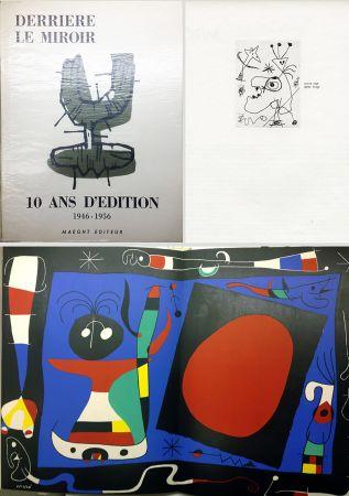 Illustriertes Buch Miró - 10 ANS D'ÉDITION.DLM 92-93. MIRO. 1955