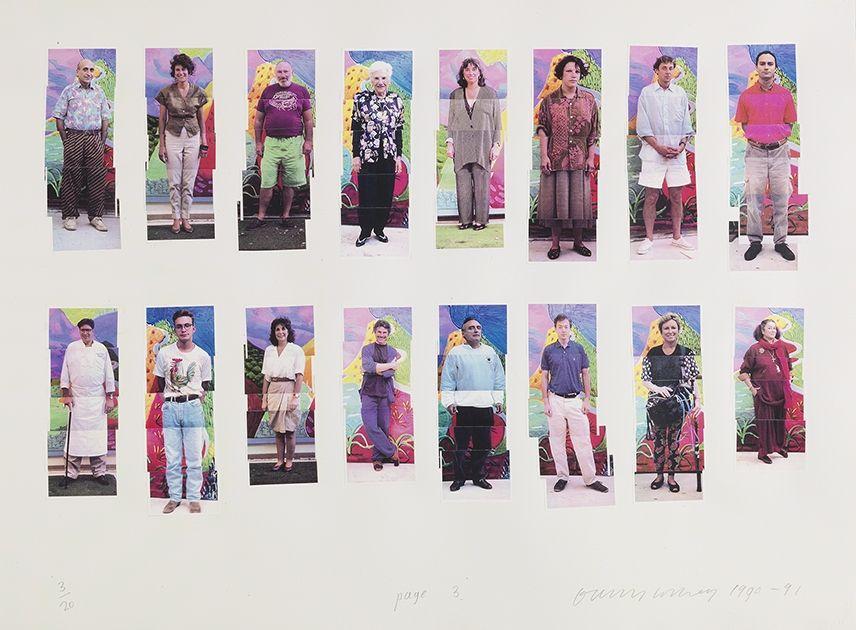 Fotografie Hockney -  112 L A Visitors - page 3 of Portfolio