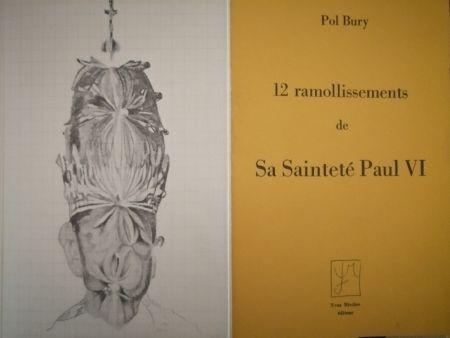 Illustriertes Buch Bury - 12 ramollissements de sa Sainteté Paul VI