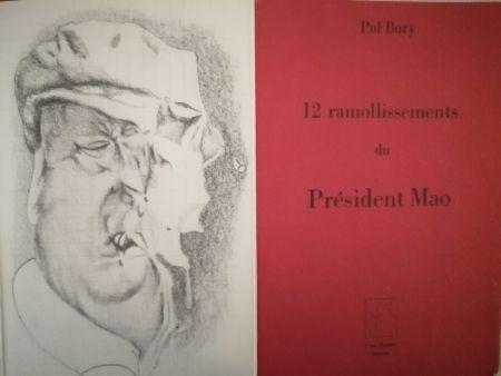 Illustriertes Buch Bury - 12 ramollissements du Président Mao
