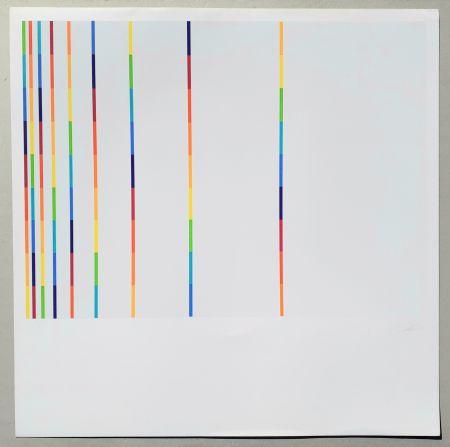 Siebdruck Lohse - 12 vertical and horizontal progressions