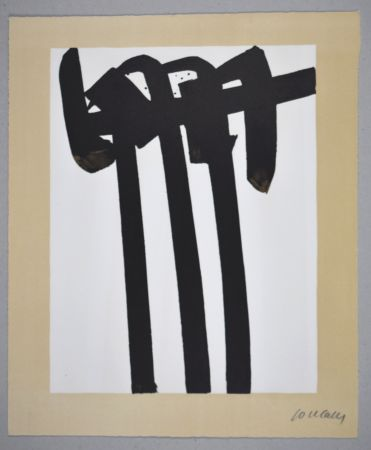 Lithographie Soulages - 14 500 €