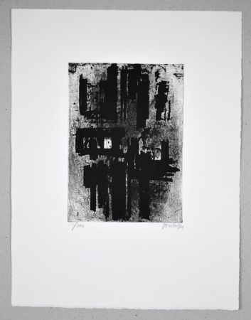 Radierung Soulages - 14 500 €