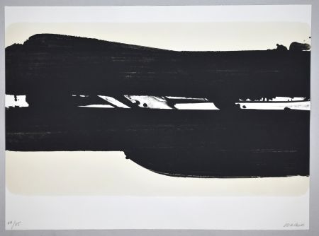 Lithographie Soulages - 18 000 €