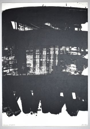 Lithographie Soulages - 19 500 €