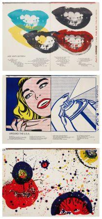Illustriertes Buch Ting - 1¢ LIFE (One Cent Life) by Walasse Ting. 1/100 de luxe signé par les artistes (1964).