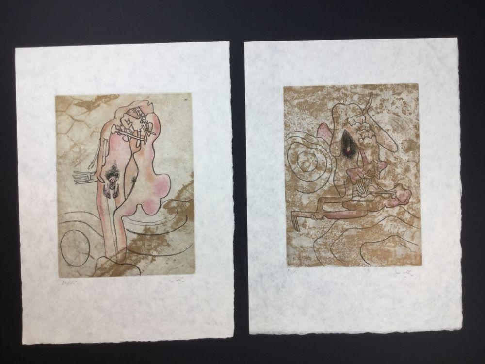 Radierung Und Aquatinta Matta - 2 artworks from FMR folder