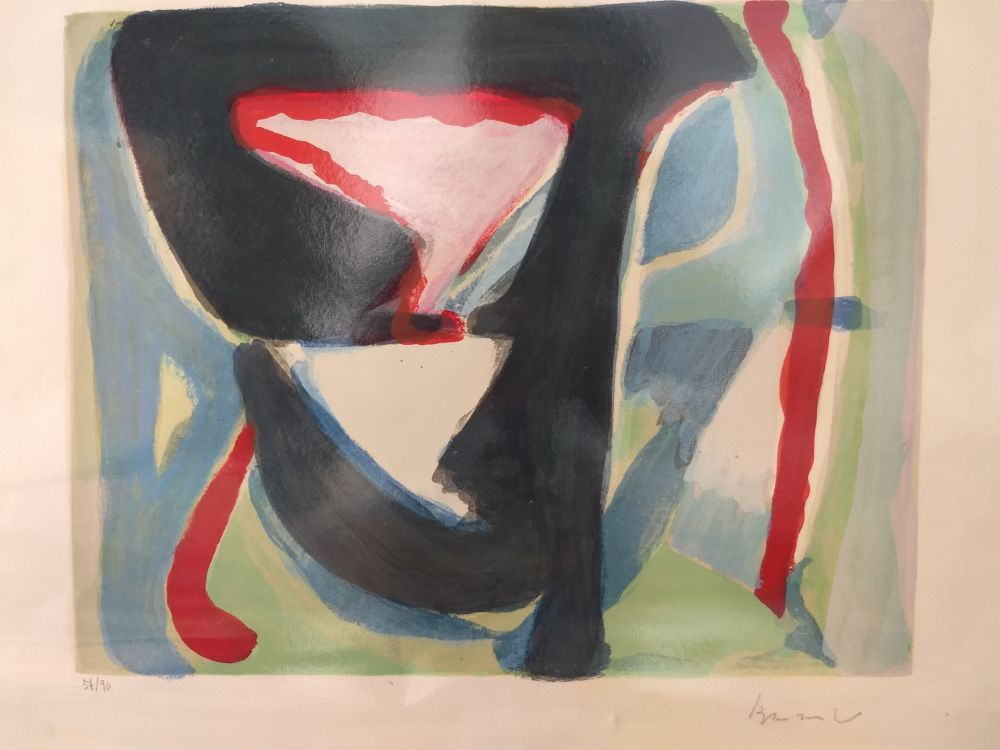 Lithographie Van Velde - 57/90
