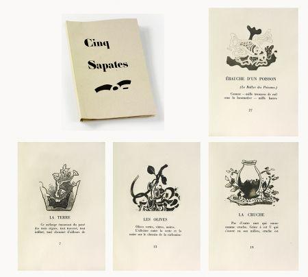 Illustriertes Buch Braque - 5 sapates