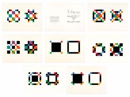 Siebdruck Bill - 7 twins - Complete portfolio