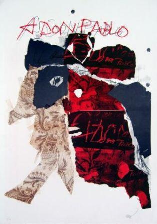Lithographie Clavé - A Don Pablo