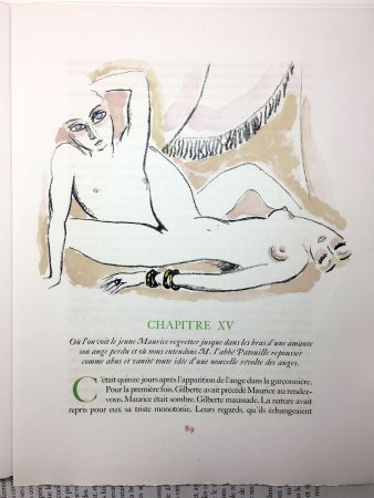 Illustriertes Buch Van Dongen - A. France : LA RÉVOLTE DES ANGES. 58 lithographies en couleurs (1951)