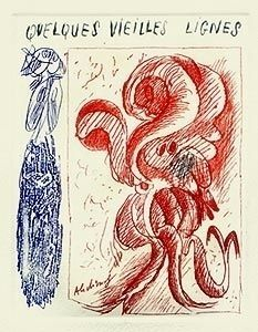Illustriertes Buch Alechinsky - A la gare