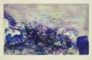 Lithographie Zao - A la gloire de l'image 85