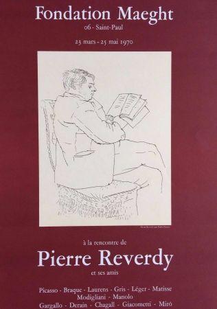Lithographie Picasso - '' A la Recherche de Pierre Reverdy ''