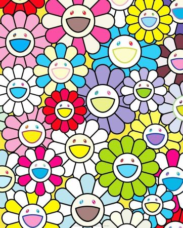 Lithographie Murakami - A Little Flower Painting II