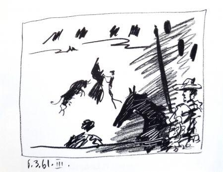 Lithographie Picasso - A los Toros