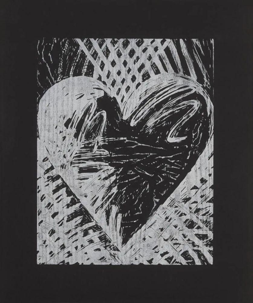 Holzschnitt Dine - A Night Woodcut