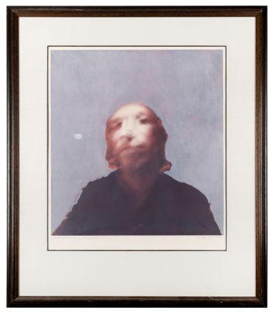 Siebdruck Hamilton - A Portrait of the Artist by Francis Bacon