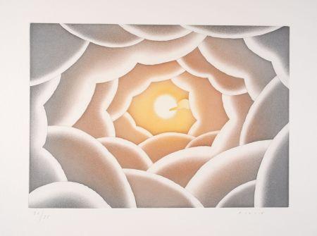 Radierung Und Aquatinta Folon - A propos de la lumière