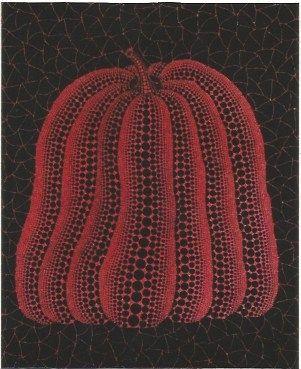 Siebdruck Kusama - A pumpkin