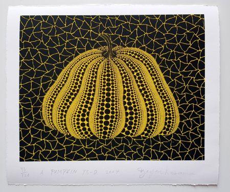 Siebdruck Kusama - A Pumpkin YB-D