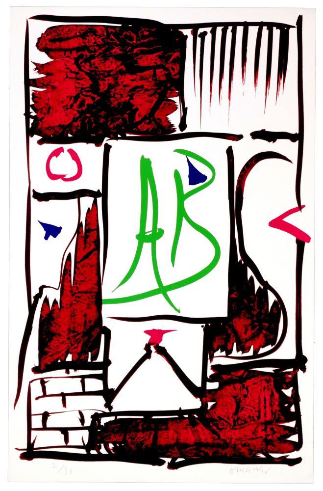 Digitale Druckgrafik Alechinsky - AB