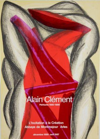 Plakat Clement - Abbaye de Montmajour Arles