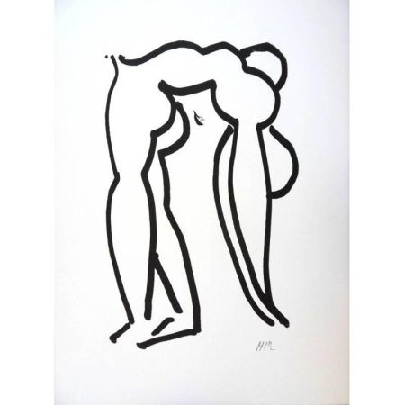 Lithographie Matisse - Acrobate