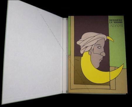 Illustriertes Buch Adami - Adami - Derrière Le Miroir N°239 De Luxe.