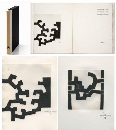 Illustriertes Buch Chillida - ADORACION. Funeral Mal, I. (José-Miguel ULLAN - Marguerite DURAS (1977).
