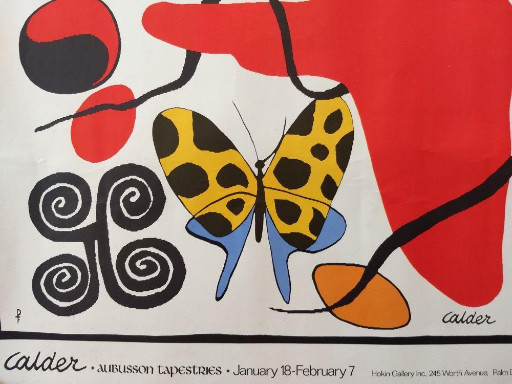 Lithographie Calder - Affiche