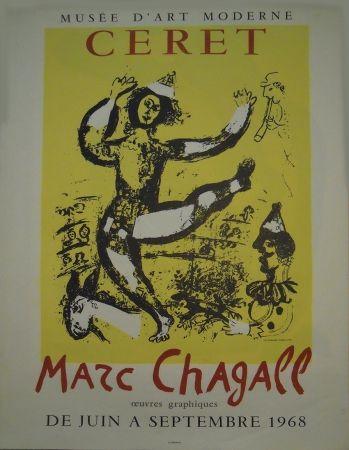 Plakat Chagall - Affiche d'exposition