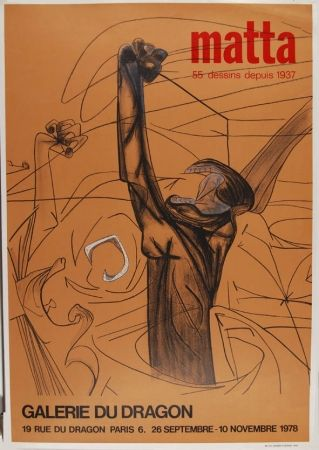 Plakat Matta - Affiche d'exposition