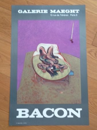 Plakat Bacon - Affiche Galerie Maeght