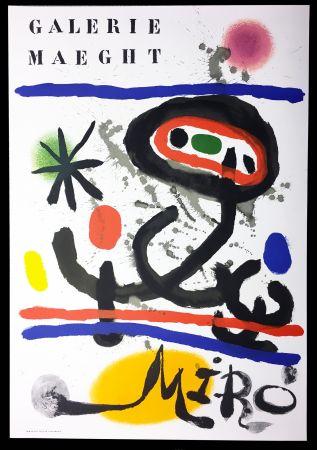 Plakat Miró - Affiche originale
