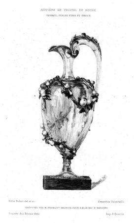 Stich Buhot - Aiguière en cristal de roche