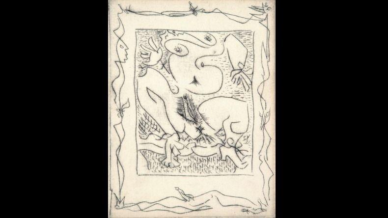 Illustriertes Buch Masson - AINSI DE SUITE (Pierre-André Benoit. 1960). 6 gravures érotiques.