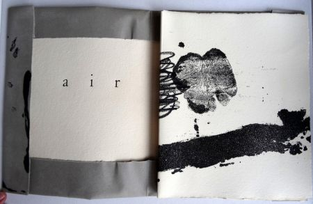 Illustriertes Buch Tapies - Air - Tàpies André Du Bouchet - Maeght