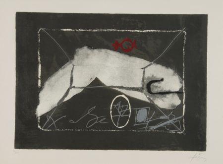 Lithographie Tàpies - Al Merkur