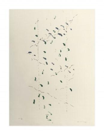 Lithographie Hernandez Pijuan - A.l. Osaka (Avant-La-Lettre Osaka)