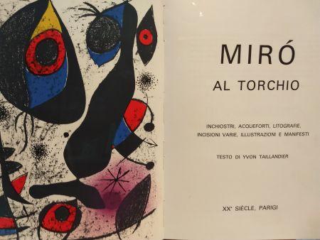 Illustriertes Buch Miró - Al Torchio