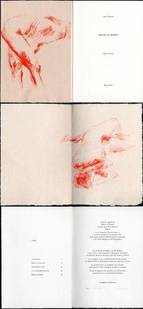 Illustriertes Buch Garache - Alain Veinstein. ÉBAUCHE DU FÉMININ. Maeght 1981