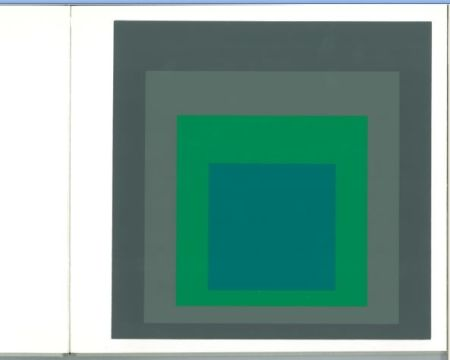 Siebdruck Albers - Albers - Homages to the Suare als Wechselwirkung der Farbe